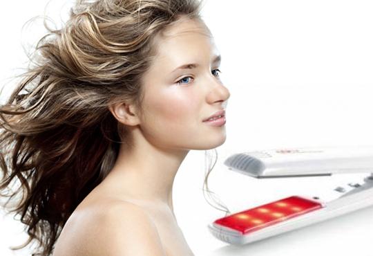 Професионално подстригване, масажно измиване, терапия според типа коса с инфраред преса и ултразвук и подсушаване в салон Хасиенда!