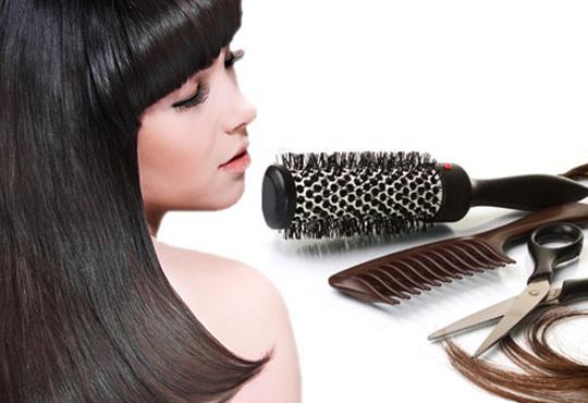 Съживете косата си с пакет услуги по избор! Измиване, подхранване с продукти на L'oreal, подстригване и прическа със сешоар, в Ивани Стил!
