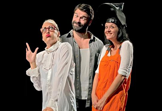 Каним Ви на Премиера! Театрална къща Viva Arte с новата комедия Третото око - на 10.10, от 19 ч, в театър Сълза и Смях, 1 билет