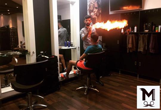 Супер стайлинг само за мъже! Мъжко подстригване, измиване, стилизиране, оформяне на брада и вежди в салон Моатаз Стайл!