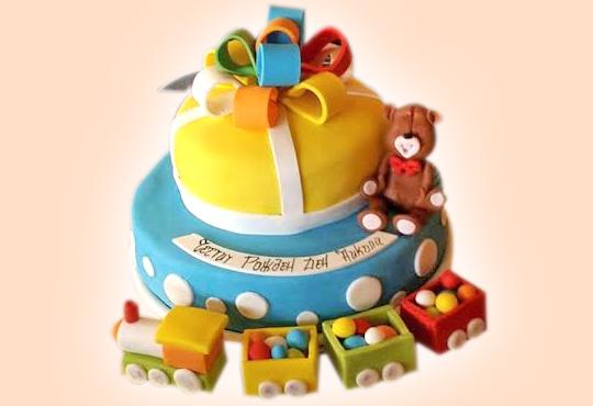 Детски торти MAX цветове с 2, 3 или 4 фигурки, фотодекорация и апликация по дизайн на Сладкарница Джорджо Джани!