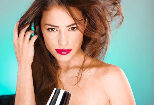 Измиване, терапия с инфраред преса, сметана за коса - естествен млечен протеин Milk Shake и оформянe на прическа по избор - сешоар, шиш или преса в студио Beauty!