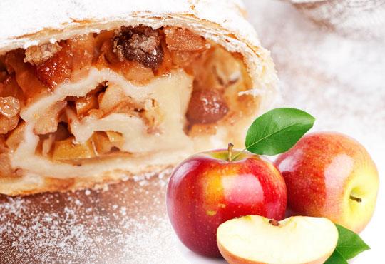Един или два килограма домашен щрудел с ябълка, орехи и канела на хапки от Работилница за вкусотии РАВИ!