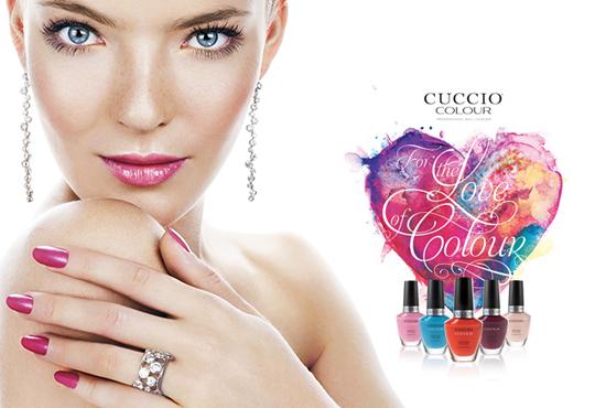 Маникюр с Cuccio Colour Veneer - класически лак или гел лак, и бонус 2 декорации, в студио BLOOM beauty & spa!