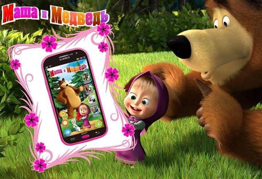 Изненадайте мъника със забавна играчка - детски смартфон с български приказки и песни от Магнифико!