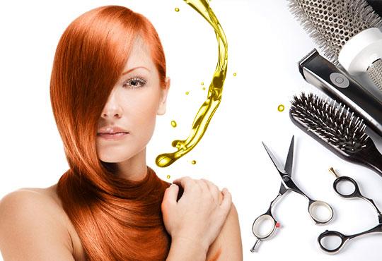 Боядисване с боя на клиента, подстригване и изправяне с преса и терапия за блясък на косата с продукти на Schwarzkopf, ART ADRIA! - Снимка 2