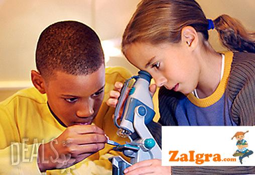 Открийте заедно с детето си непознат мини свят! Детски образователен микроскоп за 16.90лв от Магазинът за игри! - Снимка 2