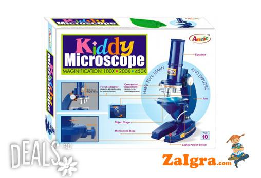Открийте заедно с детето си непознат мини свят! Детски образователен микроскоп за 16.90лв от Магазинът за игри! - Снимка 1