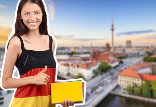 1 урок по разговорен немски за владеещи минимум ниво А2 с продължителност 40 минути в La Scuola language school - Снимка 1