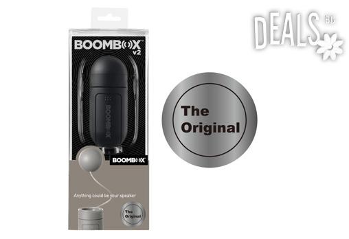 За първи път у нас! Boombox може да превърне обикновен кашон в мощна тонколона, само за 33лв - Снимка 2