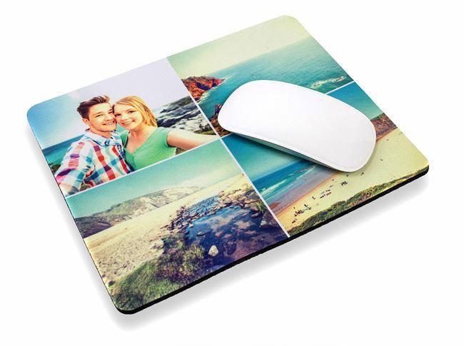 Уникален подарък! Подложка за мишка със снимка на клиента и надпис пожелание от Офис 2 - Снимка