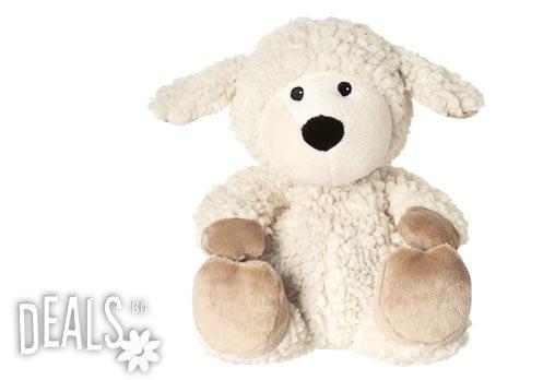 Плюшена нагряваща се и охлаждаща се овчица Локе за 33лв вместо 48.70лв - Снимка 1