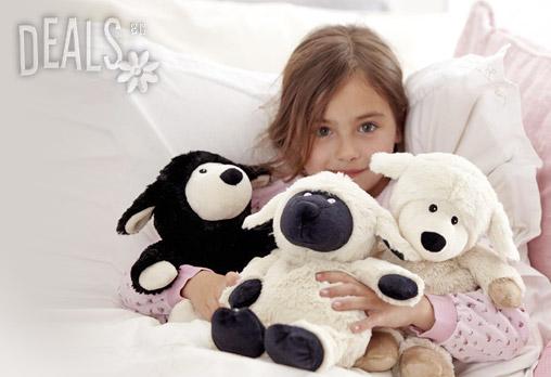 Плюшена нагряваща се овчица Лавенди 26.92лв вместо 38.99лв - Снимка 2
