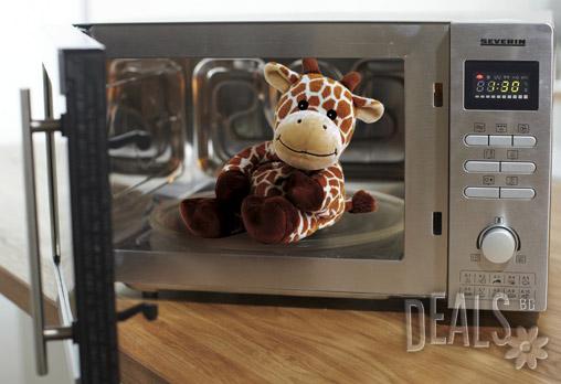 Плюшено нагряващо се и охлаждащо се Жирафче за 27лв вместо 38.99лв - Снимка 2