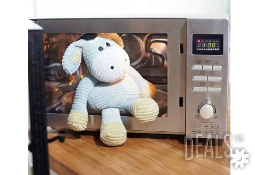 Плюшено нагряващо се и охлаждащо се Релефно Магаренце за 31лв вместо 44.83лв - Снимка 3