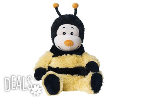 Плюшена нагряваща се Пчеличка