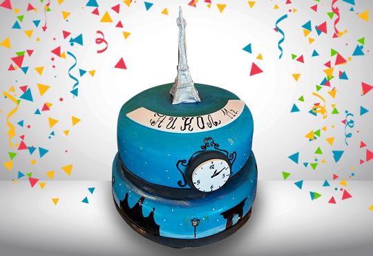 За принцеси! Торта с 3D дизайн с корона, еднорог или друг приказен герой от Сладкарница Джорджо Джани! - Снимка 23