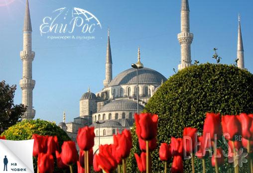 Екскурзия до Истанбул - този път в четири звездния Marinem Hotel 4*. Фестивалът на лалето в Турция Ви очаква - 3 дни, 2 нощувки и закуски, автобусен транспорт за 149лв на човек от Туроператор Ели Рос - Снимка 1