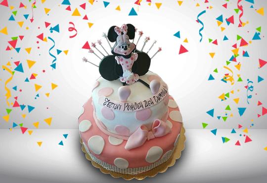 За момичета! Красиви детски торти за момичета с принцеси и приказни феи + ръчно моделирана декорация от Сладкарница Джорджо Джани - Снимка 43