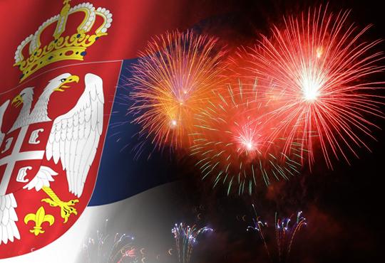Сръбска Нова година в Ниш, Сърбия, на 12.01. - 13.01.! 1 нощувка и закуска в Hotel Rile Men 3*, празнична вечеря с напитки и богато меню, посещение на Цариброд! - Снимка