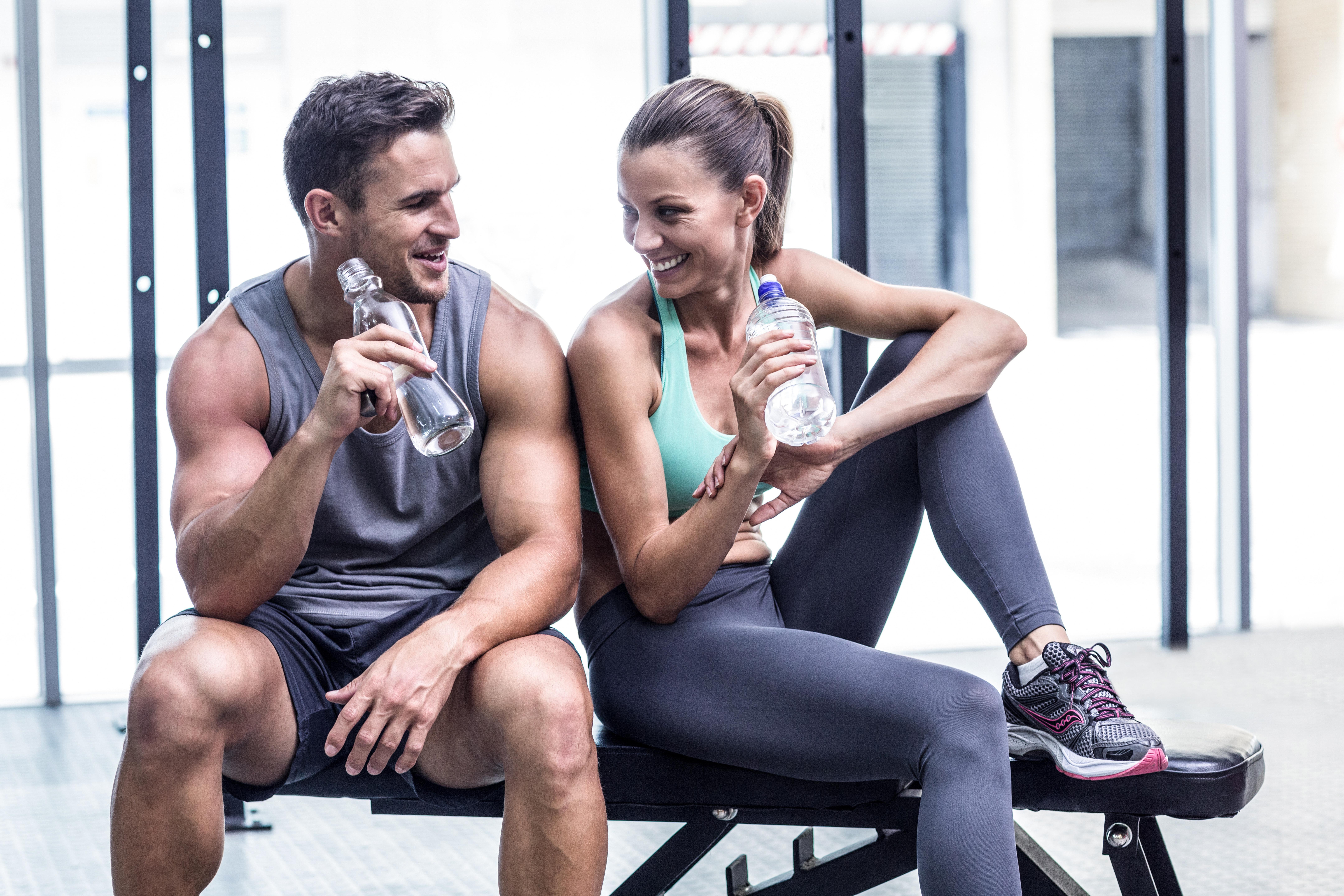 Влезте във форма за новата година! 60-минутна фитнес тренирвока с инструктор във Фитнес Олимп! - Снимка