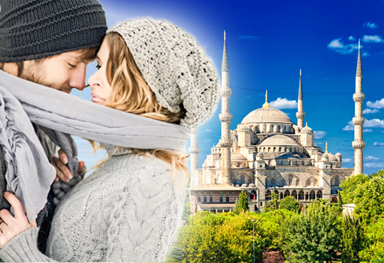 Романтичен Свети Валентин в Истанбул, Турция! 2 нощувки със закуски в хотел 3* или 4*, транспорт и посещение на Одрин! - Снимка