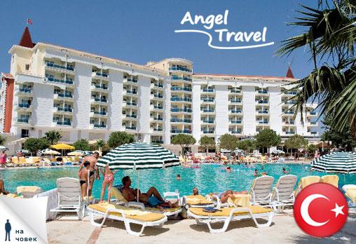 7 нощувки на база All Inclusive в хотел Garden of Sun 5*, Дидим и възможност за организиран транспорт само за 329лв на човек с Angel Travel! - Снимка 1